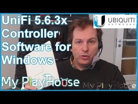 First Ubiquiti UniFi 5.6.30 Controller Install. Exploring - 651