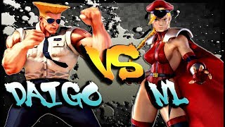 Daigo Umehara on some Guile Vs NL and his beastly Cammy in a clean ...