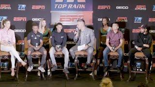 Stevenson vs Gonzalez | Pre-Fight Press Conference