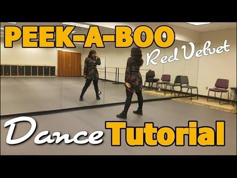 Red Velvet 레드벨벳 '피카부 (Peek-A-Boo)' DANCE TUTORIAL