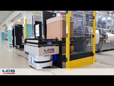 Sistemi Integrati Con L'innovativa Soluzione Di Material Handling AIV