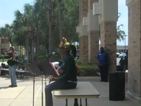 Trayvon Martin Support March and Rally Valencia College West Campus.mp4