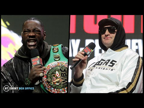 Wilder v Fury 2 live fight week press conference stream