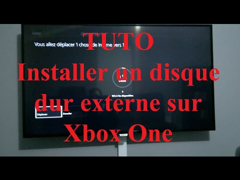 tuto installer un disque dur externe sur xbox one fr hd. Black Bedroom Furniture Sets. Home Design Ideas