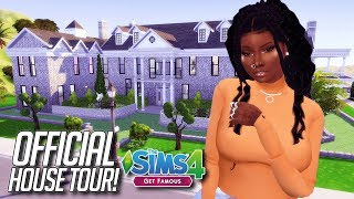 OLIVIA'S OFFICIAL HOUSE TOUR! | The Sims 4 Get Famous LP