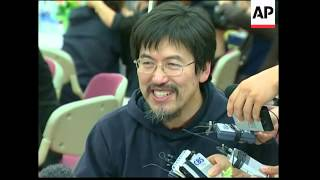 Former hostages reunited with families, church service