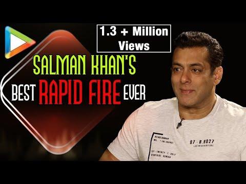Salman Khan's WITTIEST Rapid Fire ever | SRK Can do Anything | Aamir Khan