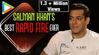Salman Khan's WITTIEST Rapid Fire ever | SRK Can do Anything | Aamir Khan