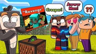 My Fans Build the REVENGE Lyrics in Minecraft (Creeper? Aww Man)