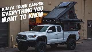 Khaya Truck Camper everything you need to know!