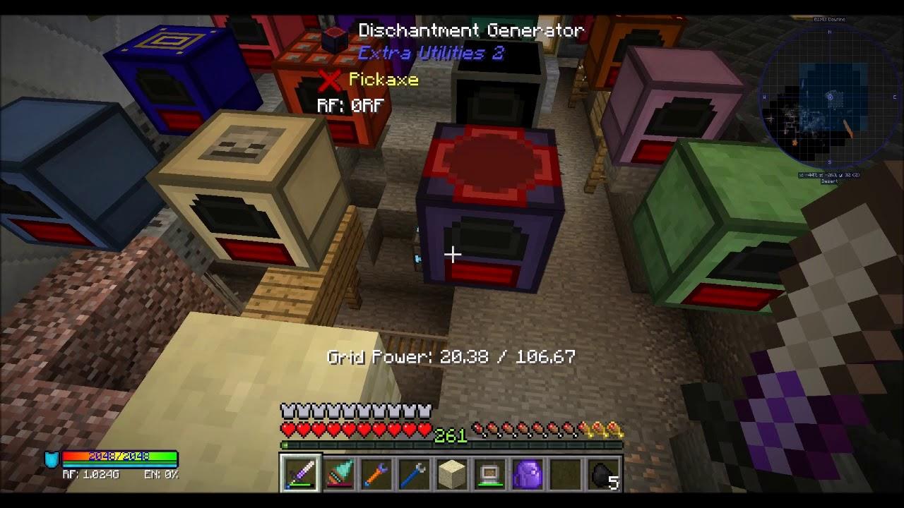 extra utilities 2 overclocked generator
