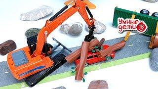 Мультфильмы про машинки. Развивающие мультики про транспорт и игрушки