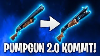 PUMPGUN 2.0 KOMMT & MONSTER IST DA! 🔥 | Fortnite: Battle Royale