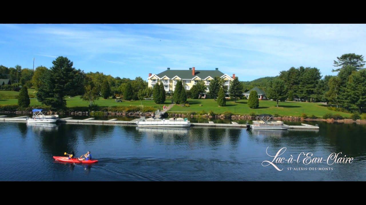 Lac à L Eau Claire Youtube