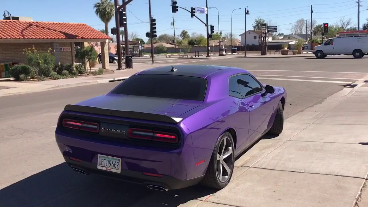 2016 dodge challenger rt hemi with flowmaster super 10 youtube. Black Bedroom Furniture Sets. Home Design Ideas