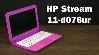 Розпакування HP Stream 11-d076ur (L2R80EA)