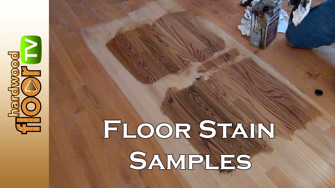 Hardwood floor stain color samples youtube for Hardwood floors examples