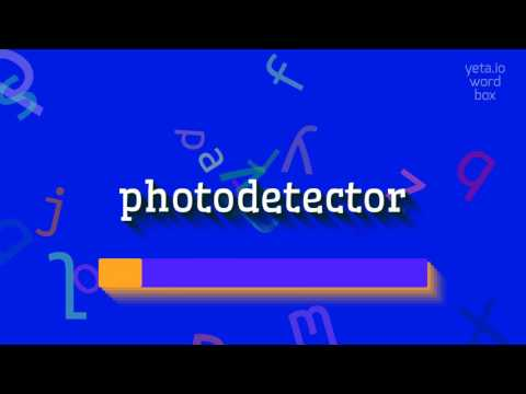 """How to say """"photodetector""""! (High Quality Voices)"""