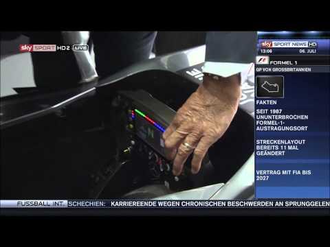 F1 2014 - Vorberichte - Marc Surer erklärt F1 Lenkrad