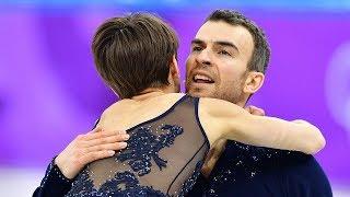 Highlights of the Team Figure Skating Pairs Short Program | Pyeongchang 2018