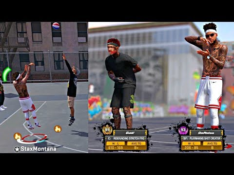 GREENING CONTESTED 3's WITH MY 99 OVERALL HOMIE! - NBA 2k18 MyPark