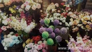 Смотреть видео Купить искусственные цветы оптом