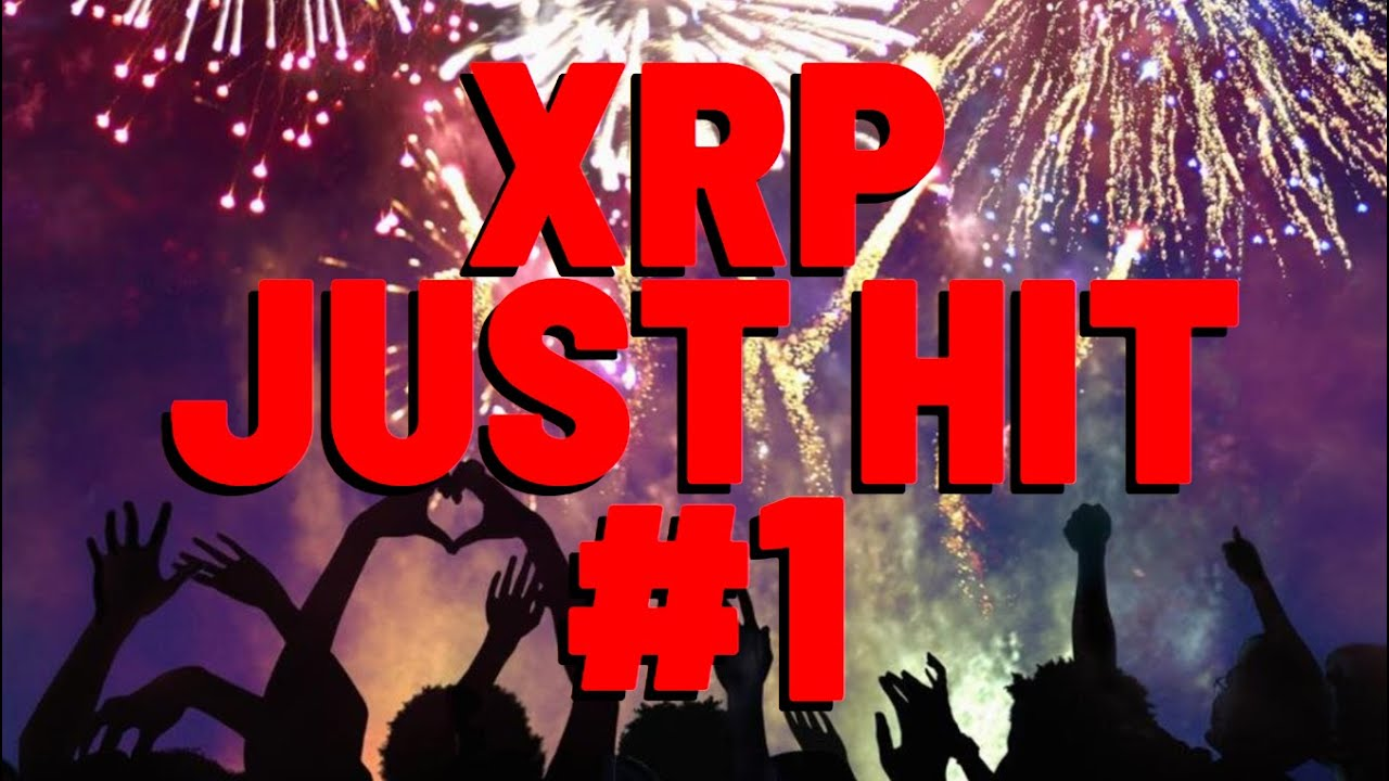 XRP BECAME #1 In World's LARGEST Crypto Market, Pushed By INSTITUTIONAL & RETAIL INVESTORS