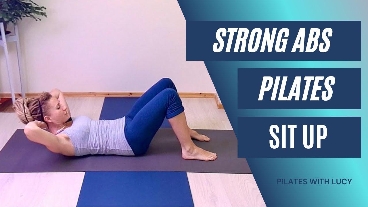 Pilates Chest Lift / Sit Up - Pilates Abs Tummy Exercise