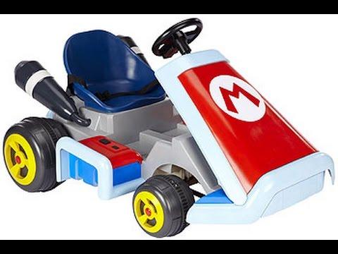 super mario kart v hicule voiture jouet enfourcher youtube. Black Bedroom Furniture Sets. Home Design Ideas