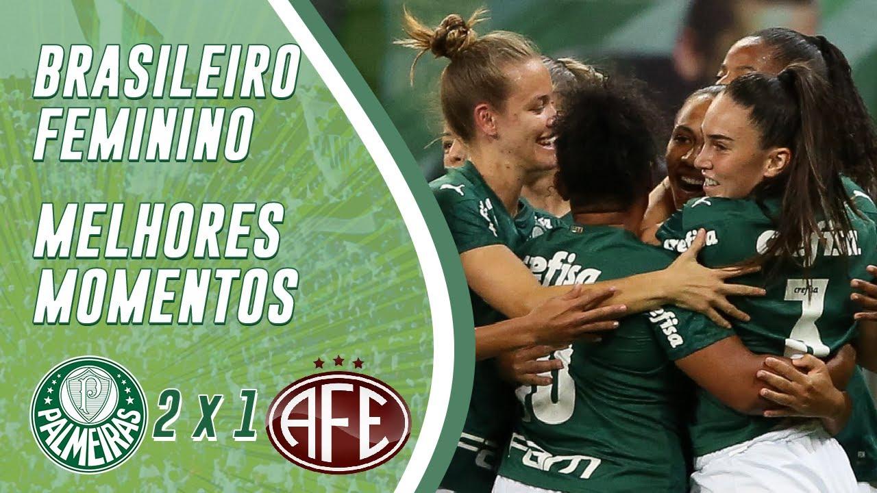 PALMEIRAS 2 X 1 FERROVIÁRIA | GOLS (HD) | QUARTAS DE FINAL - BRASILEIRÃO FEMININO 2020