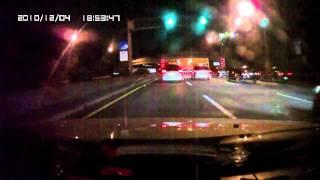 F930LHD 高速公路 夜間行駛 (3分12秒進入隧道-可測試燈光感覺)