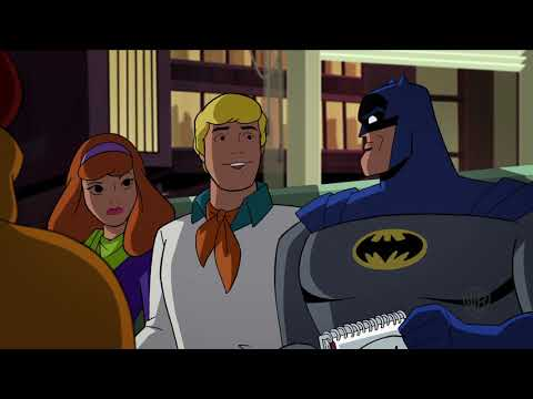 "Mystery Inc. Visits Arkham Asylum - ""Scooby-Doo! & Batman: The Brave And The Bold"""