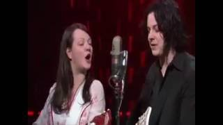 "The White Stripes performed ""We Are Going to Be Friends"" on the fin..."