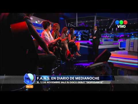 F.A.N.S. en Diario de Medianoche - HD