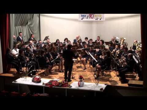"""""""The Beatles"""" dal Concerto di Natale 2012 della banda musicale di Pasturo ( Lecco )"""