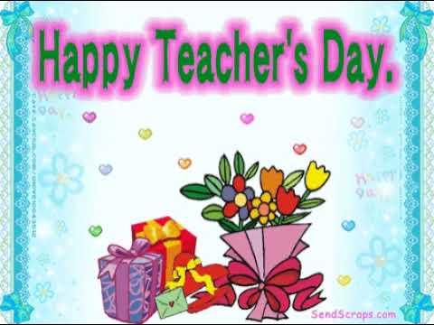 Поздравительные открытки учителю английского