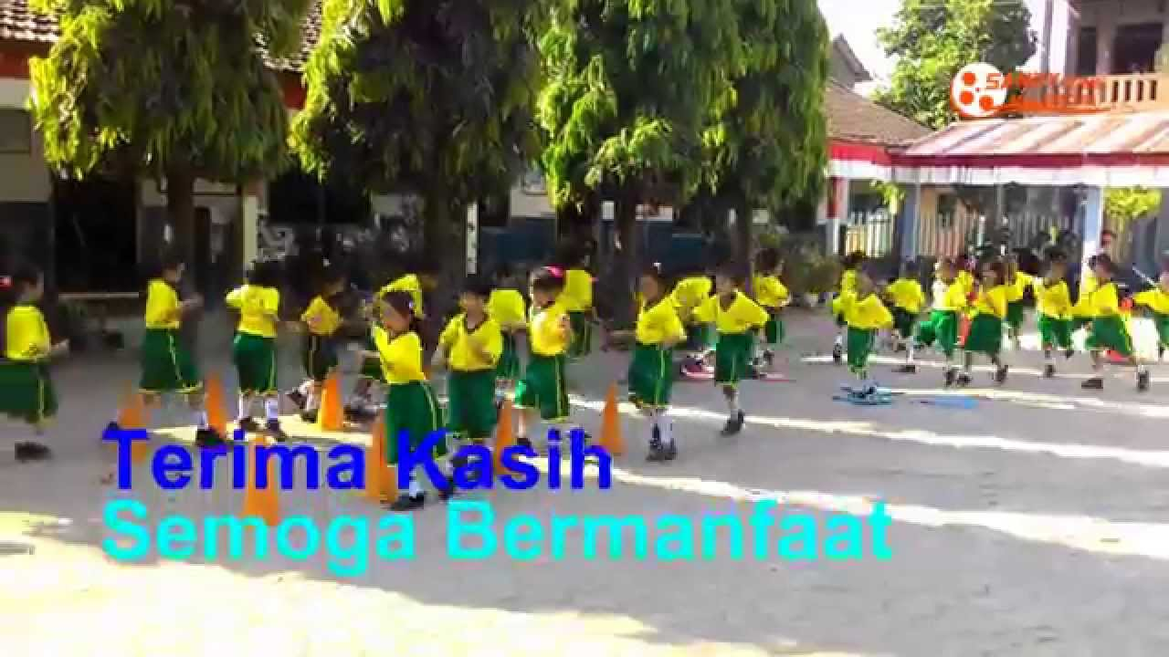 Pendidikan Olahraga Usia Dini kelas 1 - YouTube
