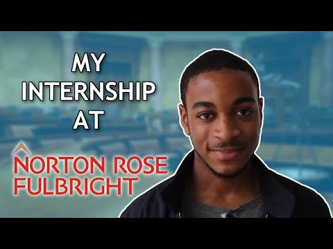 How To Get Into A Top Law Firm: Norton Rose Fullbright Internship Interview!