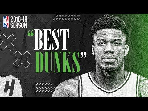 Giannis Antetokounmpo BEST & CRAZIEST DUNKS from 2018-19 NBA Season & Playoffs!