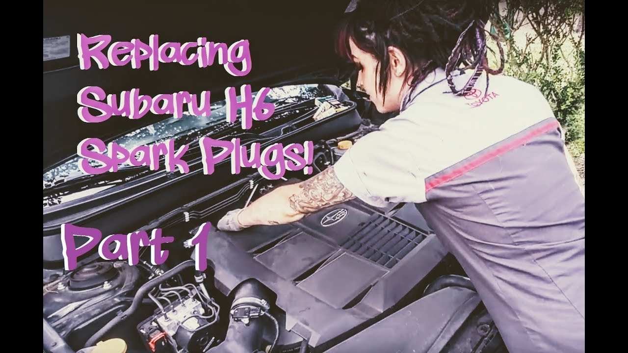 Replacing Spark Plugs on Subaru H6 (Outback 3 6R) EZ36 - Simple and Easy!  Pt  1: Passenger's Side!