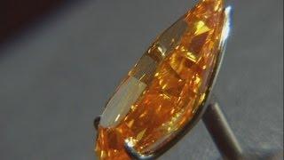 The Orange: World's biggest orange diamond could fetch $20 million at auction
