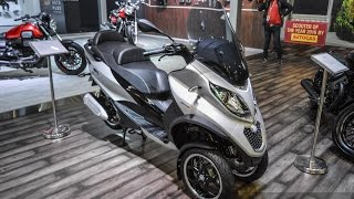 Piaggio MP3 300 Lt Sport ABS at 2016 Auto Expo
