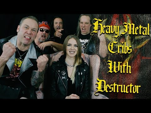 Heavy Metal Cribs with Dave Overkill of Destructor