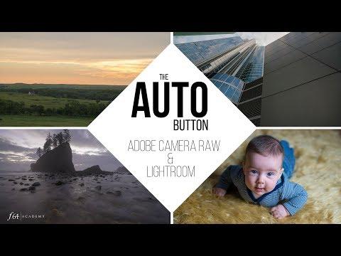 The Auto button in Adobe Camera Raw and Lightroom CC
