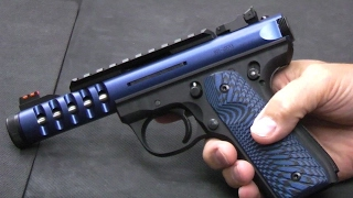 Upgrading a ruger 22/45 lite - part 2: lower