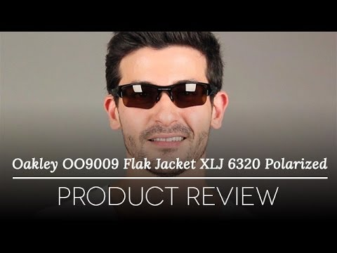 Oakley Flak Jacket Polarized Sunglasses  oakley oo9009 flack jacket xlj polarized 26 243 sunglasses review