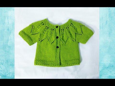 [Knitting] Autumn Leaves Sweater | Đan áo lá thu