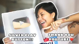 UNBOXING | HOW I GOT MY SILVER PLAY BUTTON...