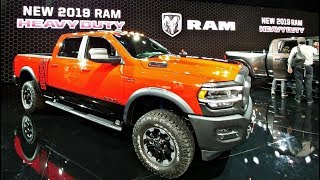 2019 RAM Powerwagon and 2500/3500 Heavy Duty Pickup Reveal!