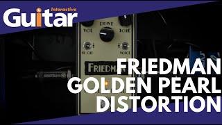 Friedman Golden Pearl Pedal | Review